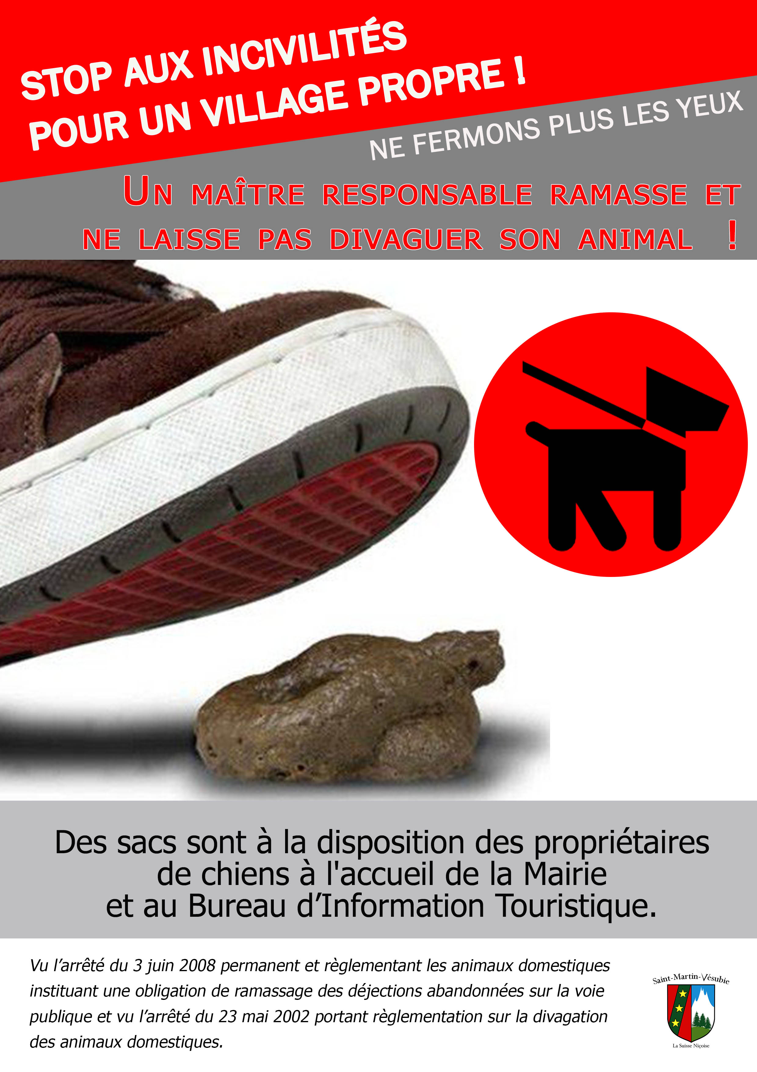 campagne djections canines 2